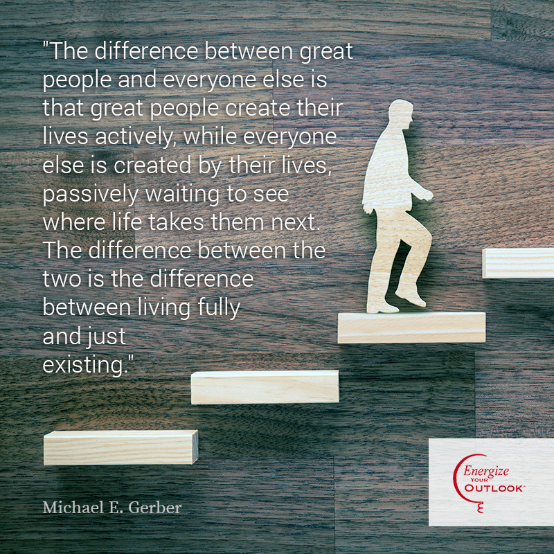 Michael E. Gerber Career Development Quote